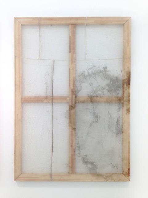 Ayan Farah, 'Shangri La (Copper)', 2013, Painting, Acrylic, vinegar, alcohol and fabric dye on cotton silk, The Hole