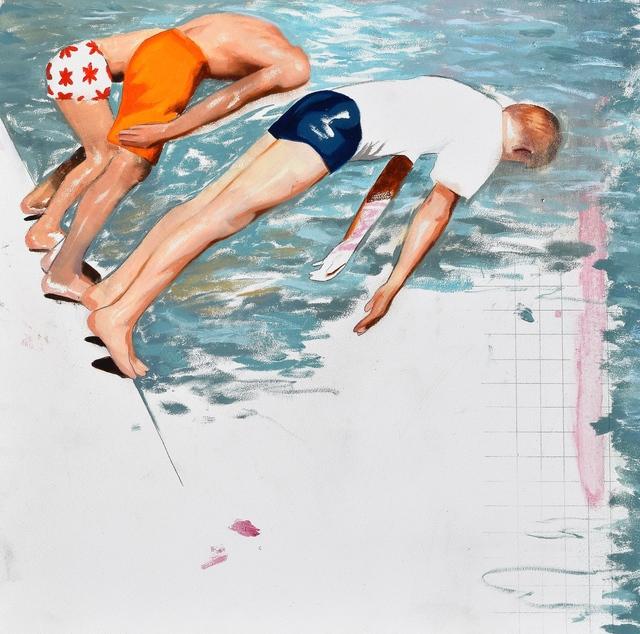 , 'Dive,' 2016, Robert Kananaj Gallery