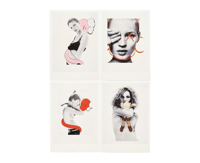 KAWS, 'KAWS x NGV Postcard (Set of 4) (Kate Moss)', 2019, Curator Style