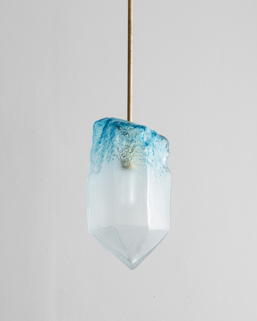 , 'Illuminated hand-blown glass pendant,' 2015, R & Company