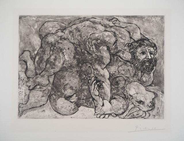 Pablo Picasso, 'The loving embrace, Suite Vollard (plate 32)', 1881-1973, Plazzart