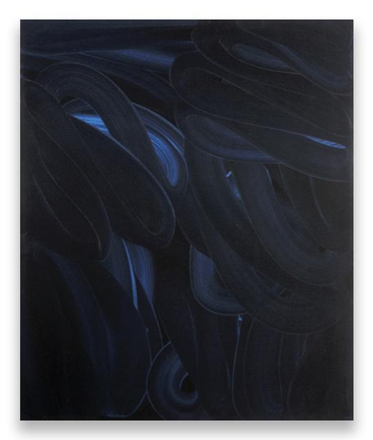 Ed Moses, 'DK-Azul', 2007, Painting, Acrylic on canvas, Brian Gross Fine Art