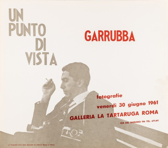 Caio Mario Garrubba, 'Un punto di vista', 1961, Finarte