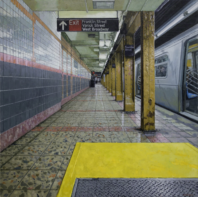 , 'Convergence,' 2018, Gallery Henoch