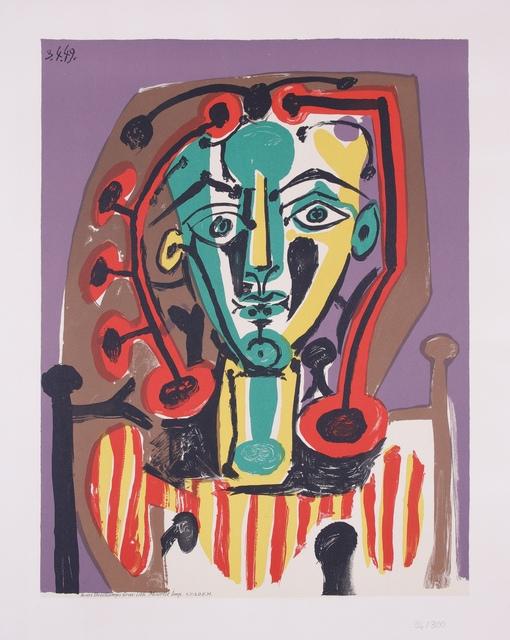 Pablo Picasso, 'La Corsage rayé', 1978, Van der Vorst- Art
