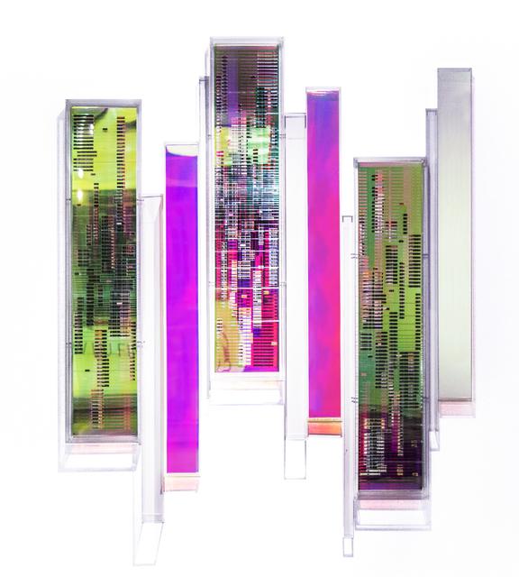 , 'Iridescent urban symphony,' 2019, Matthew Liu Fine Arts