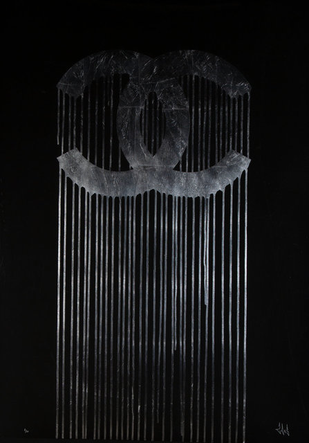 Zevs, 'Liquidated Chanel (Silver Leaf Edition)', 2013, Heritage Auctions