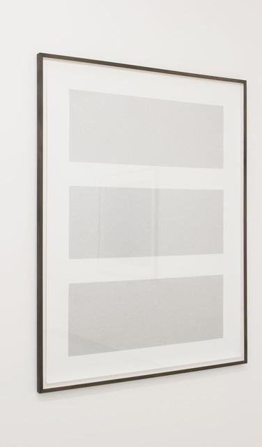 , 'Das zunehmende Verschwinden denotativer Referenzen 4.2,' 2013, Galerie Max Mayer