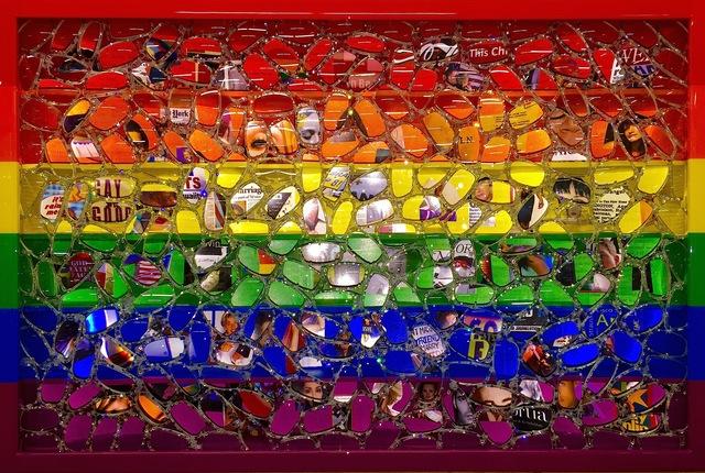 , 'Rainbow Flag,' 2019, Galleria Ca' d'Oro