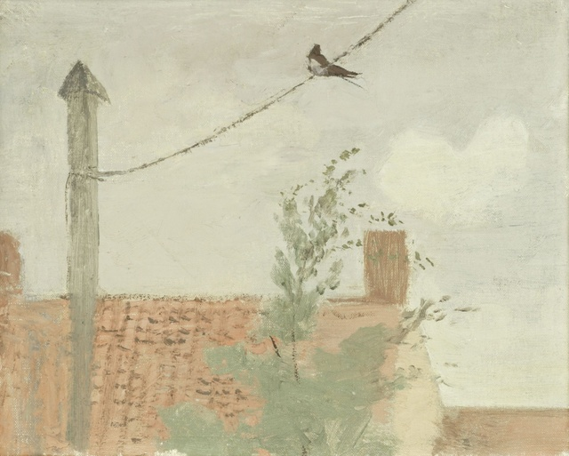 , 'Swallow on a Wire,' late 1930s, Jenna Burlingham Fine Art