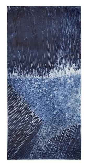 , 'Ecotone #673 (Bainbridge Island, WA 03.05.19, Draped on Mossy Birdhouse, Wintry Precipitation Mix),' 2019, Haines Gallery