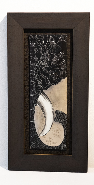 Masako Inoue, 'Ceramic Picture_Elefant', 2019, Micheko Galerie