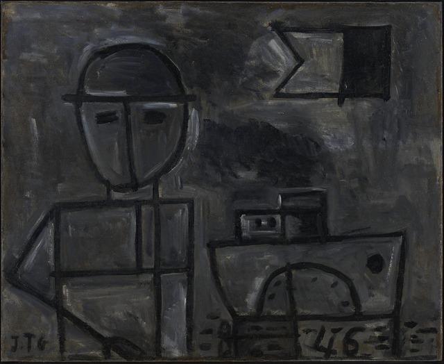 , 'Grafismo del Hombre y Barco,' 1946, Cecilia de Torres, Ltd.