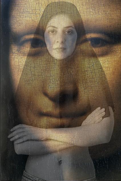 , 'Mona Lisa,' 2015, 55Bellechasse
