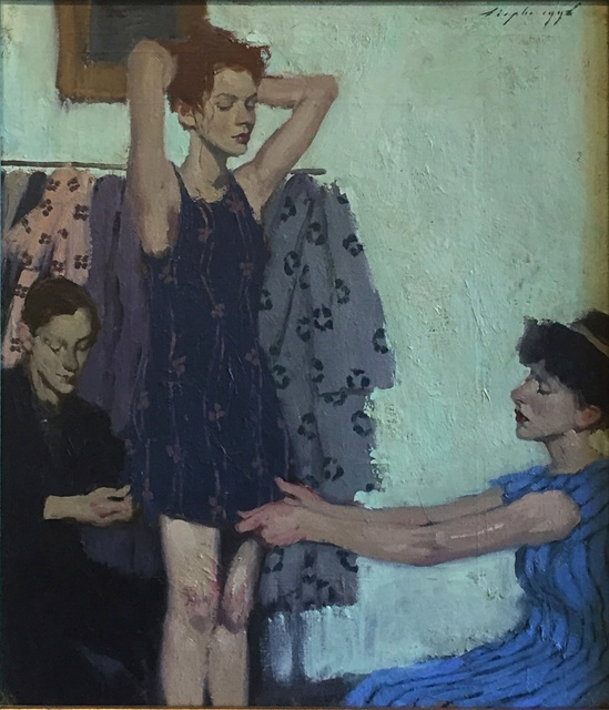 , 'Pinning the Dress ,' 1999, Off the Wall Gallery