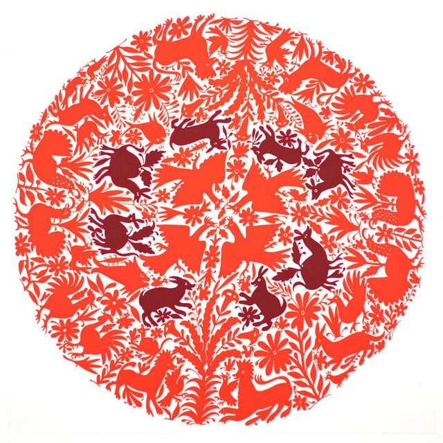 , 'Tenango (Red),' 2013, C. Grimaldis Gallery