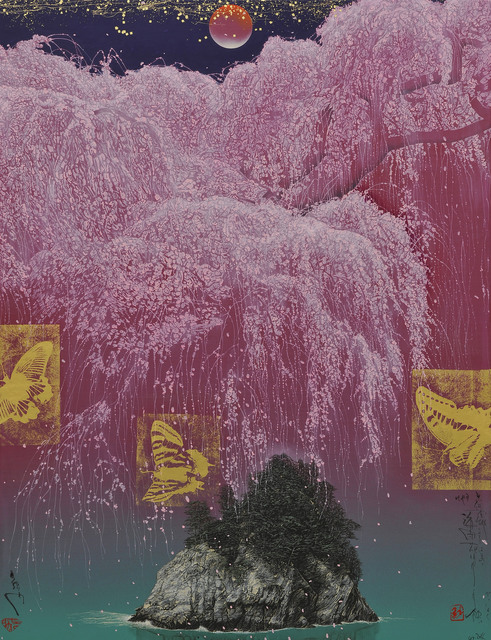 Kyosuke Tchinai, 2014, Galerie Taménaga