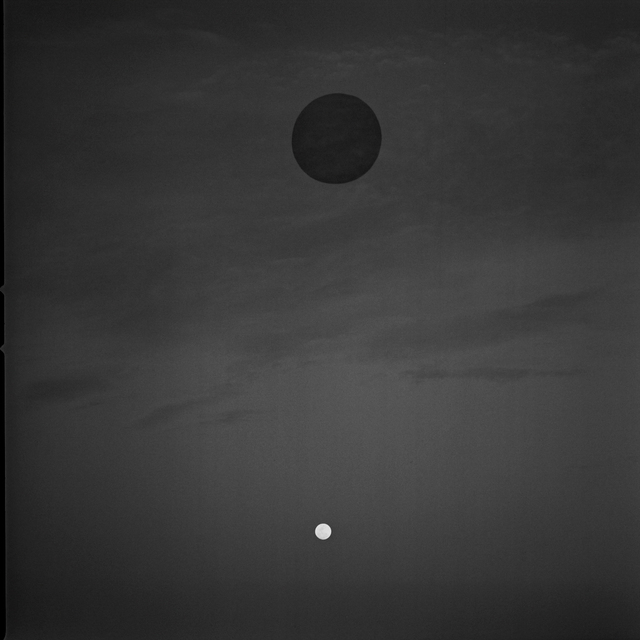 , 'Moon and Black Hole in Sky,' 2015, Susan Eley Fine Art