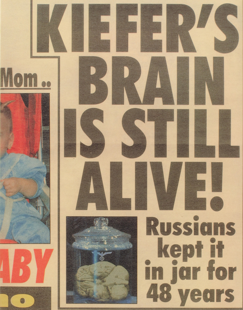 , 'Kiefers Brain is still alive,' 2000, Niels Borch Jensen Gallery and Editions