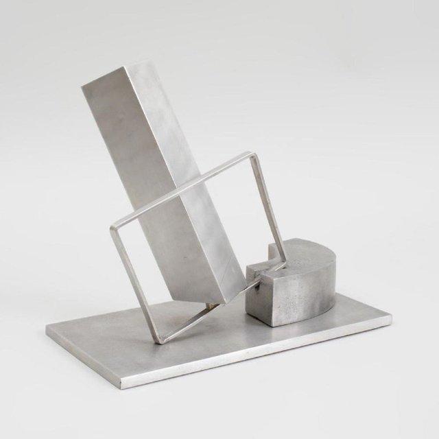 , '1969 Israeli Abstract Sculpture Stainless Steel Menashe Kadishman Suspension,' 1960-1969, Lions Gallery