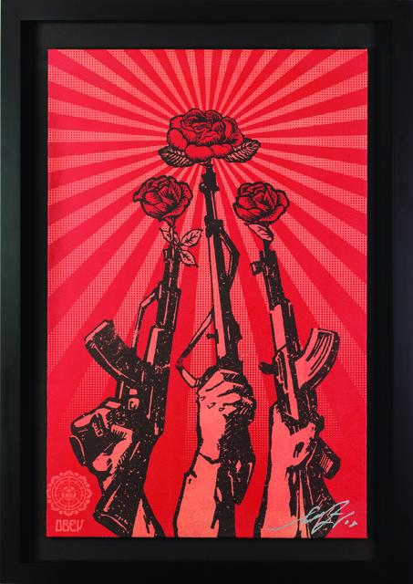Shepard Fairey (OBEY), 'Guns and Roses', 2007, Rudolf Budja Gallery