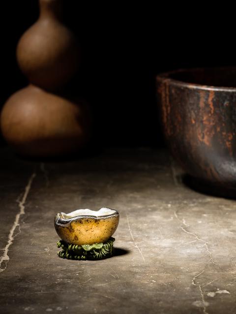 , 'A mottled grey agate pebble 瑪瑙水洗,' , Rasti Chinese Art