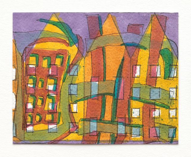 , 'Bronze Bricks (study),' 2016, Foxy Production
