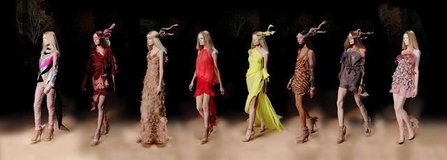 Simon Procter, 'Valentino Eight Haute Couture 2010, Paris', Rosenbaum Contemporary