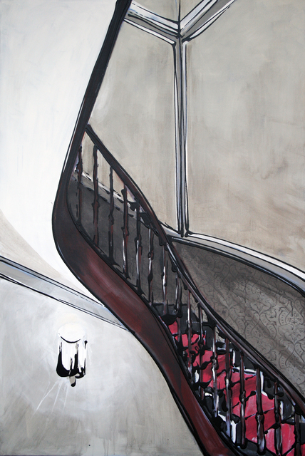 , 'Treppenhaus,' 2015, Galerie Alex Schlesinger