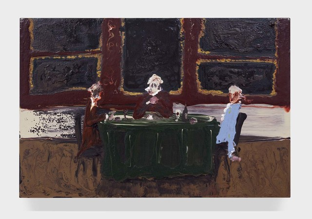 , 'The Card Players,' 2015, Half Gallery