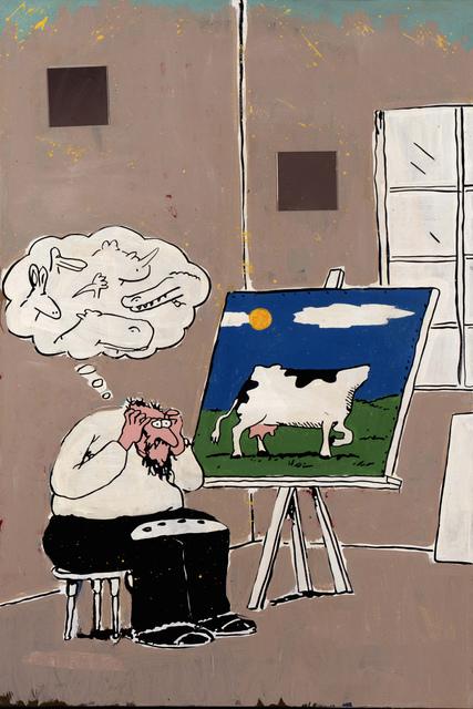Achim Duchow, 'Orientierungslosigkeit in der Kunst', 1991, SETAREH