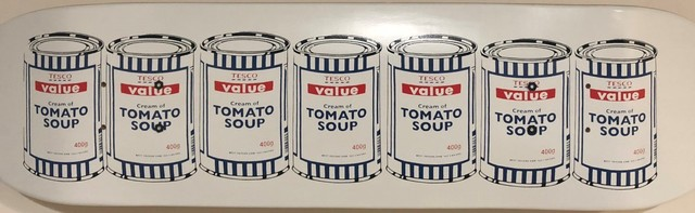 Banksy, 'Tesco Value Soup Cans', Digard Auction