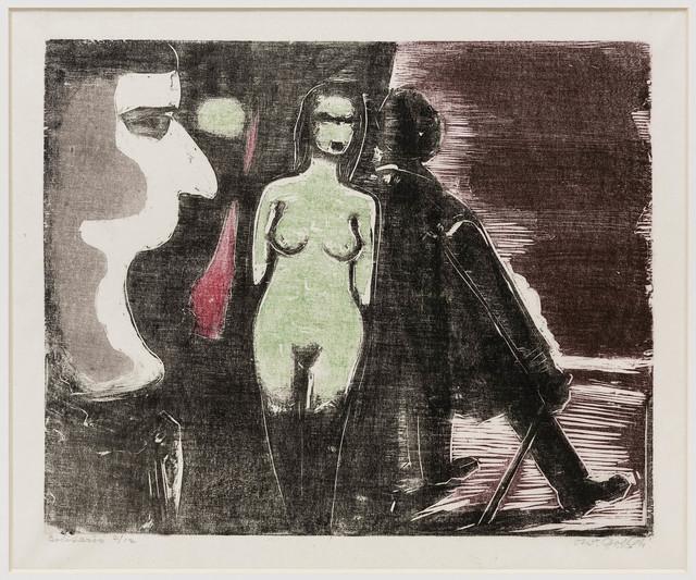 , 'Solitario,' ca. 1950, Bergamin & Gomide