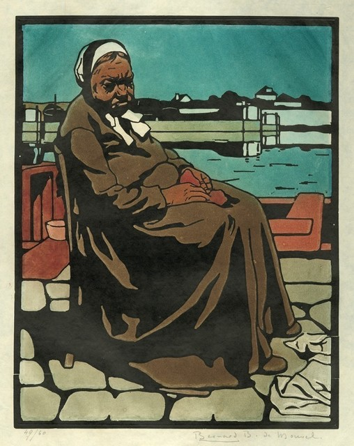 , 'La Femme de l'Eclusier or L'Eclusière,' 1901, Armstrong Fine Art