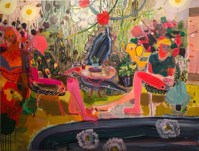 , 'Long Island Backyard Paradise,' 2018, Jonathan Ferrara Gallery