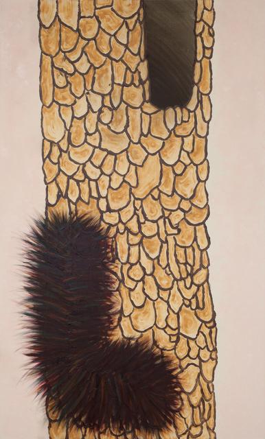 , 'Habitat (Furry Caterpillar),' 2018, GNYP Gallery