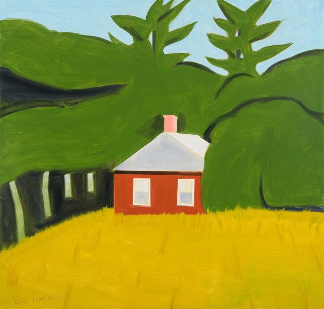 Alex Katz, 'Red House', 2016, Print, Galerie Schimming
