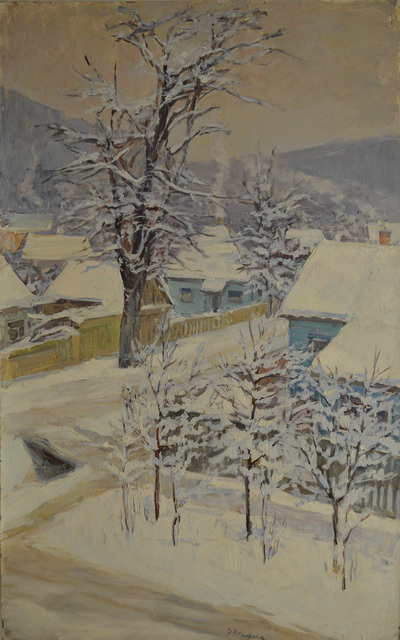 Nadezhda Eliseevna Chernikova, 'Winter day', 1975, Surikov Foundation