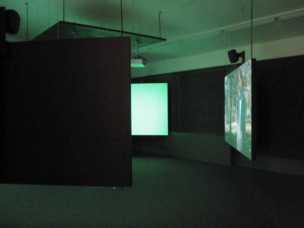 Installation view, Galleri Charlotte Lund, 2014