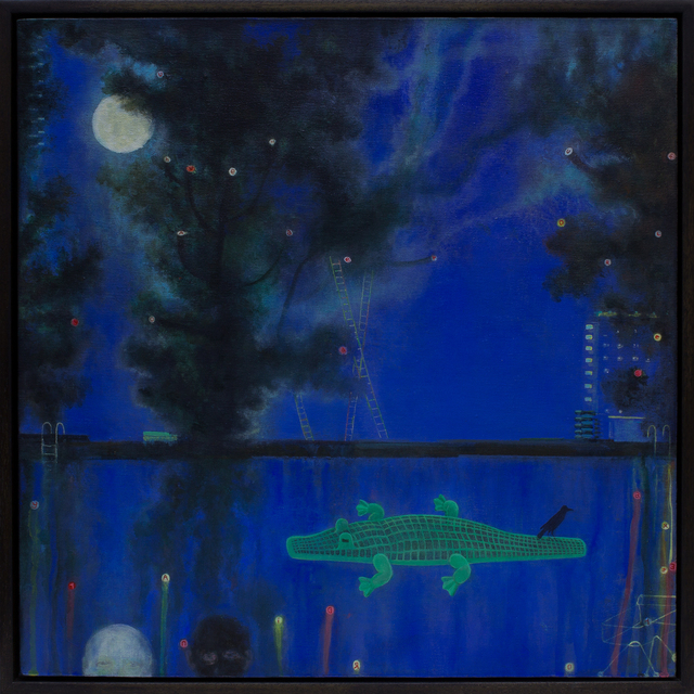 , 'Canal-ligator,' 2018, Rebecca Hossack Art Gallery