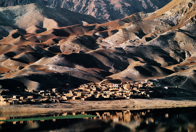 , 'Road to Jalalabad, Village between Sarobi and Kabul, Afghanistan,' 1992, Cavalier Galleries