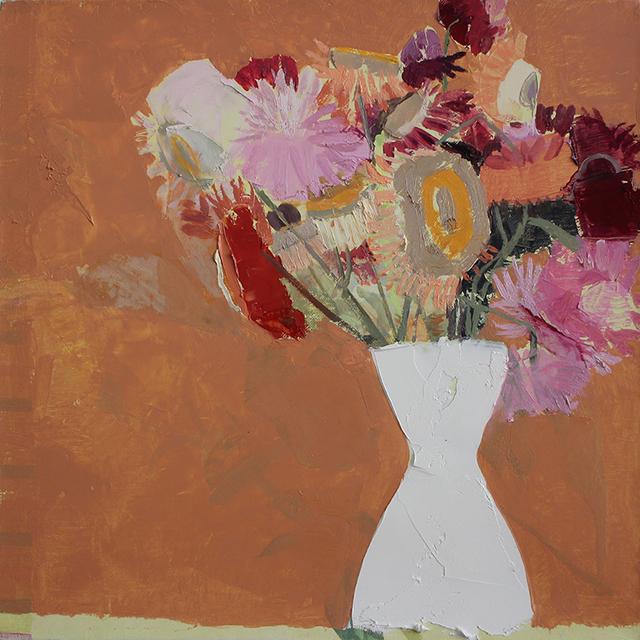 , 'Still Life with Flowers,' 2015, Kathryn Markel Fine Arts