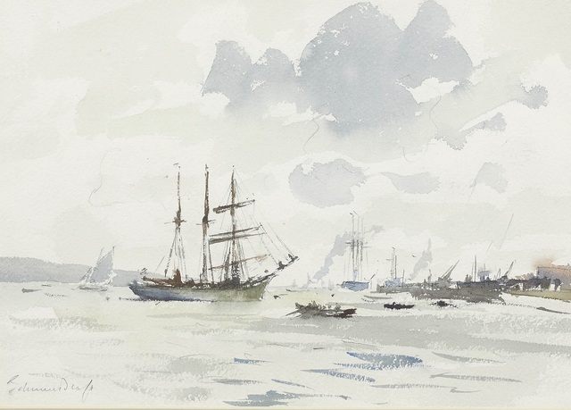 , 'The Barquentine Gazela on the Tagus,' , Panter & Hall