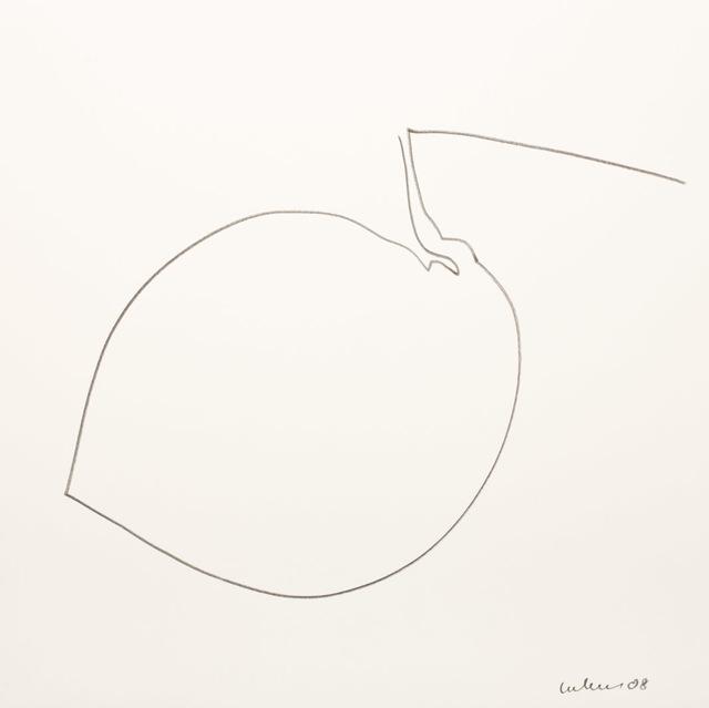 , 'Umriß 63,' 2008, Galerie Judith Andreae