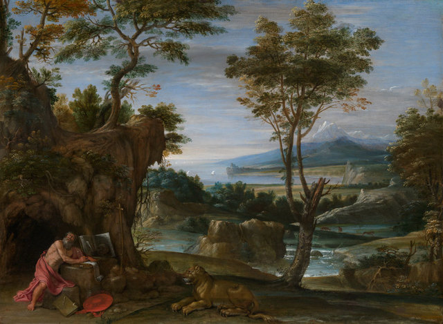 , 'Landscape with St. Jerome,' ca. 1610, American Federation of Arts