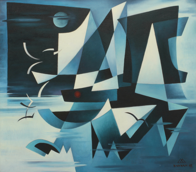 , 'Sails in the Night,' 1965, Addison Rowe Gallery