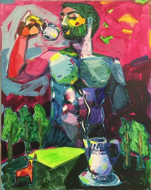 , 'El té de la noche,' 2017, NG ART GALLERY
