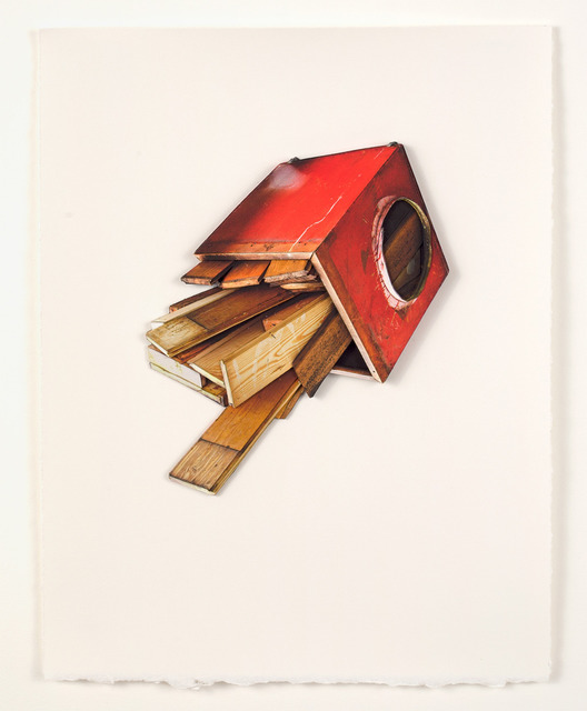 , 'Wood in Red Box,' 2013, Robert Mann Gallery