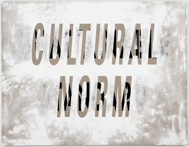 , 'Cultural Norm/Unattainable Standard,' 2011, Resource Art