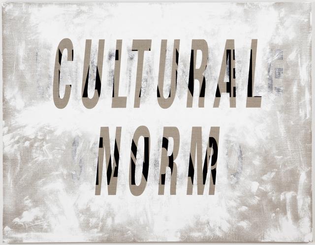 , 'Cultural Norm/Unattainable Standard,' 2011, Resource Art